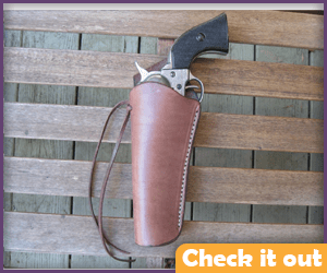 Left Leather Gun Holster.
