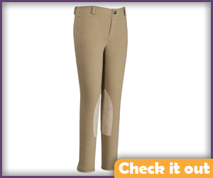 Tan Color Breech Riding Pants.
