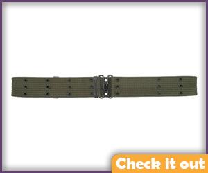 Green Military Belt.
