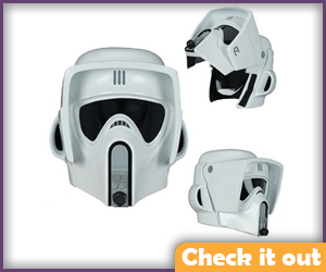 Scout Trooper Costume Replica Helmet.