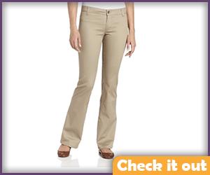 Womens Khaki Pants.