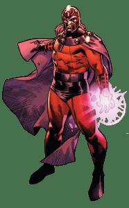 Magneto Comic Reference Image.