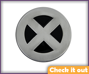 X-Men Belt Buckle.