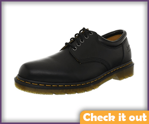 Black Leather Dr. Martens Shoes.
