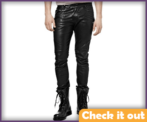 Black Leather Pants.