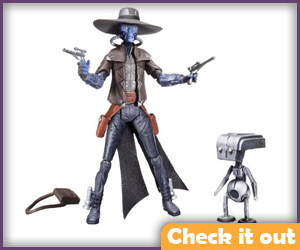 Cad Bane Clone Wars Figure Set.