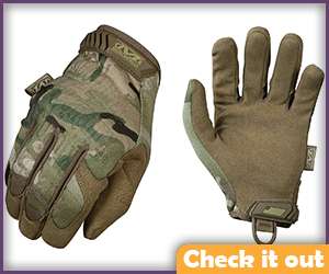 Camo Tactical Gloves.