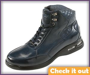 Navy Blue Sneakers.