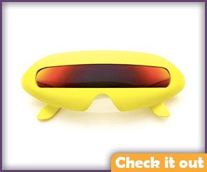 Yellow Cyclops Sunglasses.