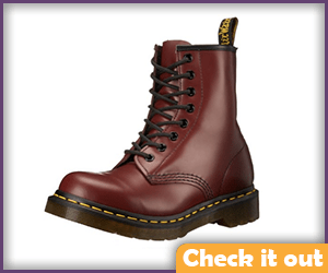 Men's Red Boots.