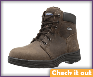 Brown Work Boots.