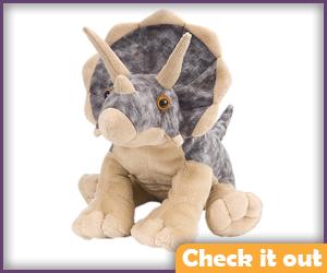 Triceratops Plush.