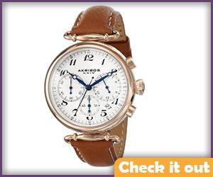 Brown Watch.