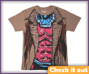 Gambit Costume Tee.