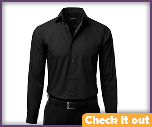Black Dress Shirt.