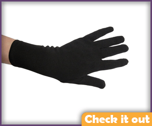 Adult Black Costume Gloves.
