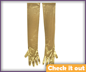 Classic Gold Gloves.
