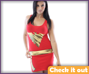 Phoenix Costume Red Dress.
