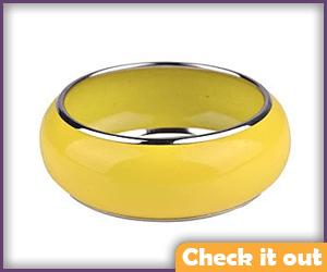 Yellow Chunky Bracelet (need two).