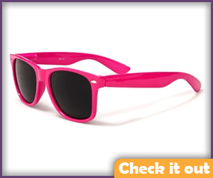 Pink Sunglasses.