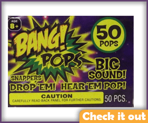 Bang Pop Fireworks.
