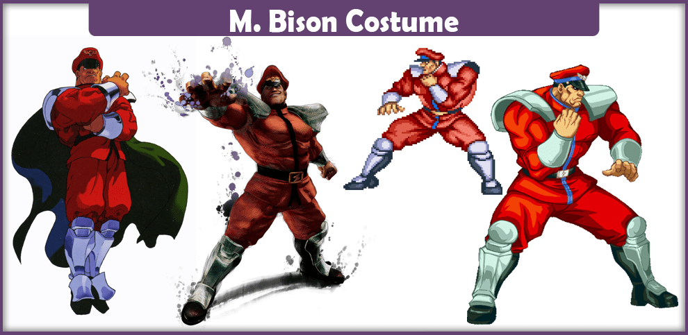 M. Bison Costume – A DIY Guide