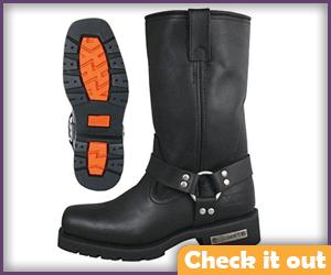 Black Biker Boots.