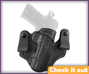 Black Left Gun Holster.