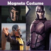 Magneto Costume - A DIY Guide