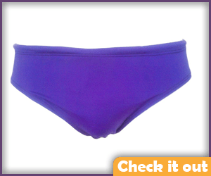 Purple Bathing Suit Trunks Men.
