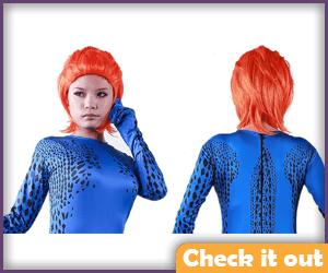 Mystique Costume Wig.