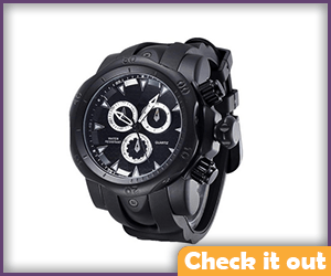 Black Bulky Outdoor Watch.