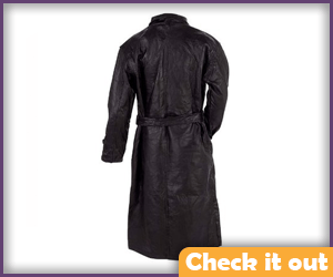 Punisher Leather Trench Coat.