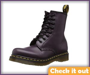 Purple Boots.