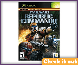 Republic Commando Xbox Game.