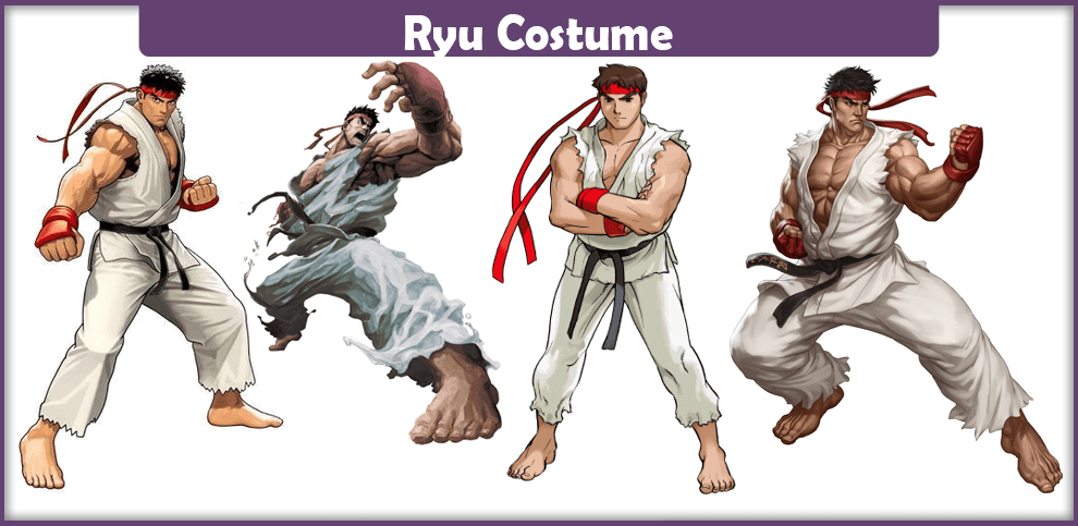 Ryu Costume – A DIY Guide
