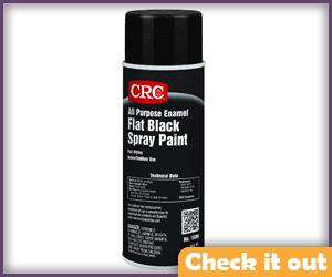 Flat Black Spray Paint.
