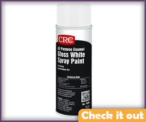 Gloss White Spray Paint.