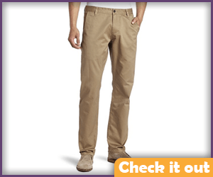 Men's Khaki Pants.