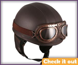 Period Pilot Helmet.