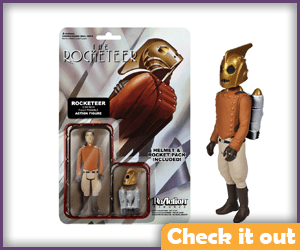The Rocketeer ReAction Figure.