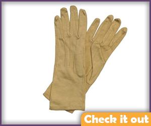 Tan Gloves.