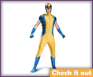 Wolverine Costume Classic Bodysuit.