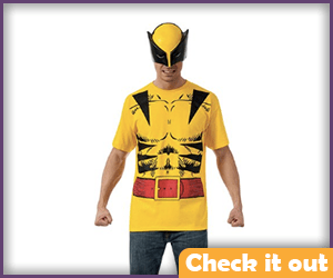Classic Wolverine Tee Costume Set.