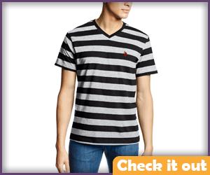 Pugsley Addams Striped Shirt.