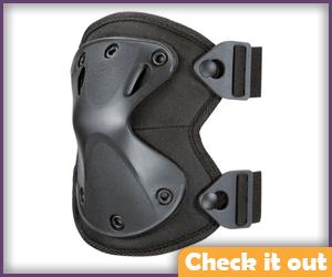 Black X-Shape Knee Pads.