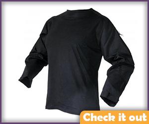 Black Tactical Shirt.