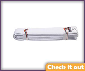 White Belt Strap (for upper thighs).