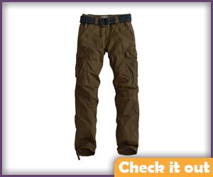 Brown Cargo Pants.