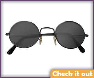 Round Sun Glasses.